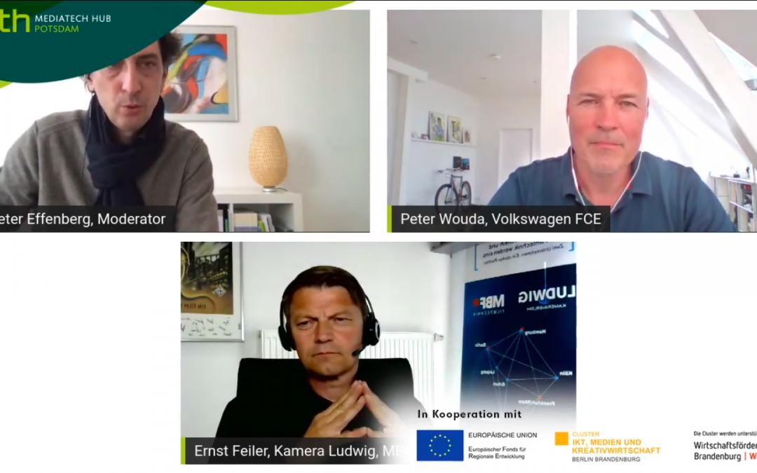 Mediatechtalk mit Peter Wouda und Ernst Feiler