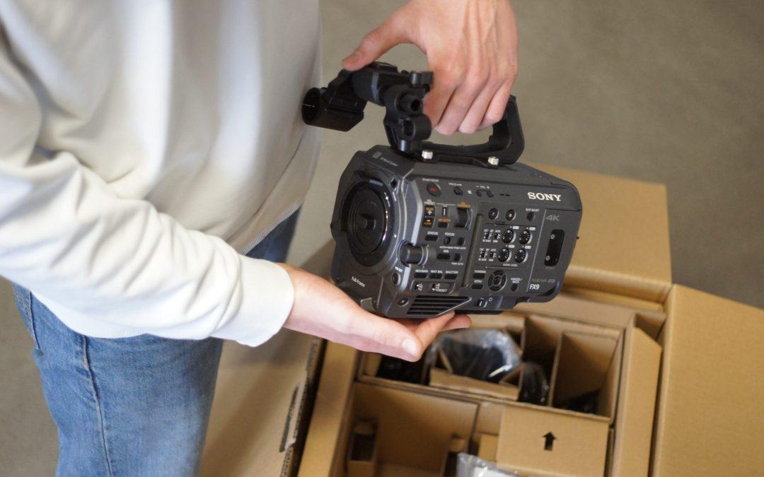 Die Sony PXW-FX9 ist absofort bei uns verfügbar!