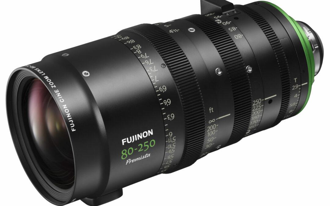 Brandneue Objektive: FUJINON Premista 28-100mm + 80-250mm