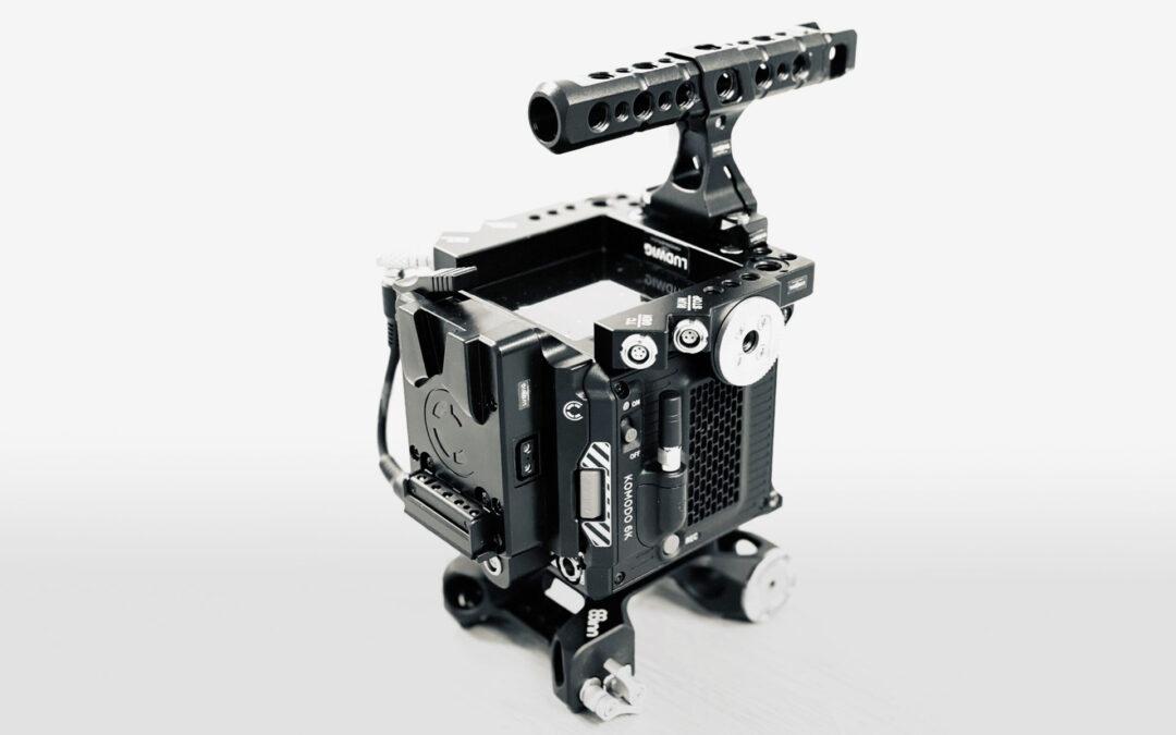 Neue Kamera bei uns im Verleih: RED Komodo 6K